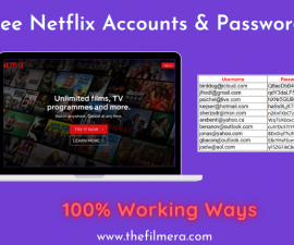 Free Netflix Accounts & Passwords